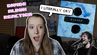 ED SHEERAN DIVIDE ALBUM REACTION