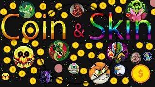 Agar.io - 2019 Skin & Coin HACK!!!  All Skin | 99999 Coins