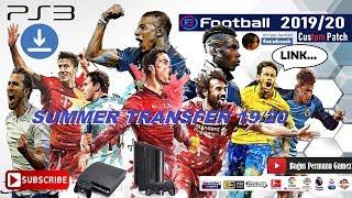 PES 2018 PS3 CUSTOM PATCH E-Football 19/20 SUMMER TRANSFER
