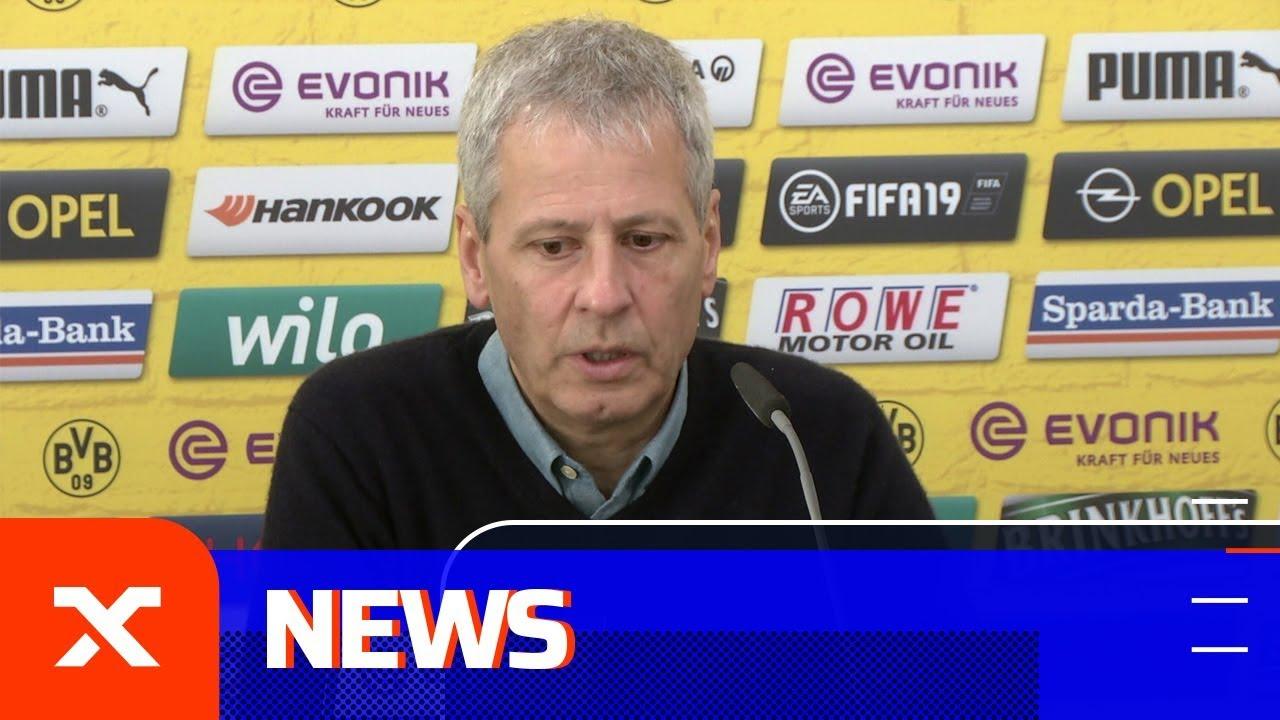 Lucien Favre über Raphael Guerreiro, Nuri Sahin und Kadergröße | Borussia Dortmund - Bremen | SPOX