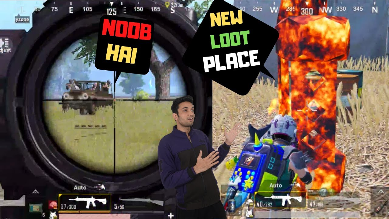 They Think I'm Noob & This Happened New Loot Place  Season 14 Pubg Mobile