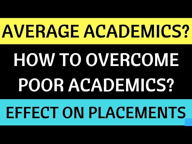 Does Past Academic Record Affect Placements and Admission Process? A reality check