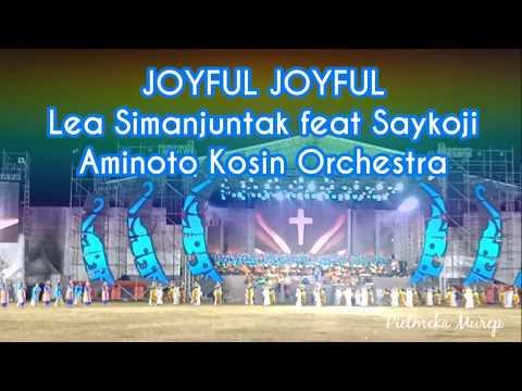 Lea Simanjuntak feat Saykoji, Aminoto Kosin & Svara Indonesia Orchestra - Joyful Joyful