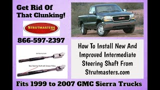 How To Replace The Intermediate Steering Shaft On A GMC Sierra