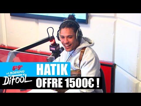 Youtube: Hatik offre 1500€ à un auditeur! #MorningDeDifool