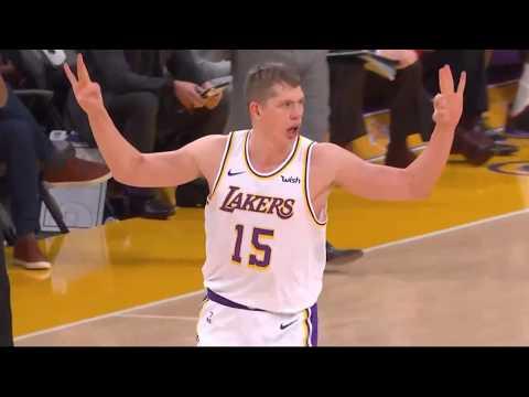 9fc844b04b5 Moritz Wagner Highlights Lakers vs Suns LeBron Tyson McGee REACT ...
