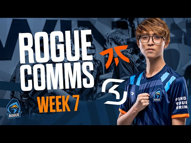 We STOMPED FNATIC...! | ROGUE LEC VOICE COMMS WEEK 7