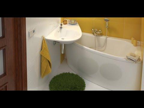 Часть 3 - концепция Avocado. Идеи для оборудования маленькой ванной комнаты.