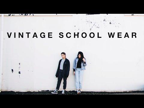 #MinuteOOTD: Vintage School Wear | ToThe9s