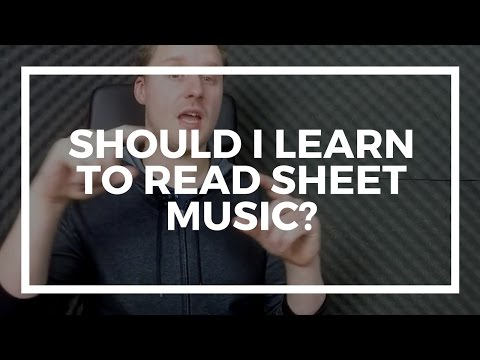 Should I Learn To Read Sheet Music - Why Guitar/Bass Tab Isn't Enough