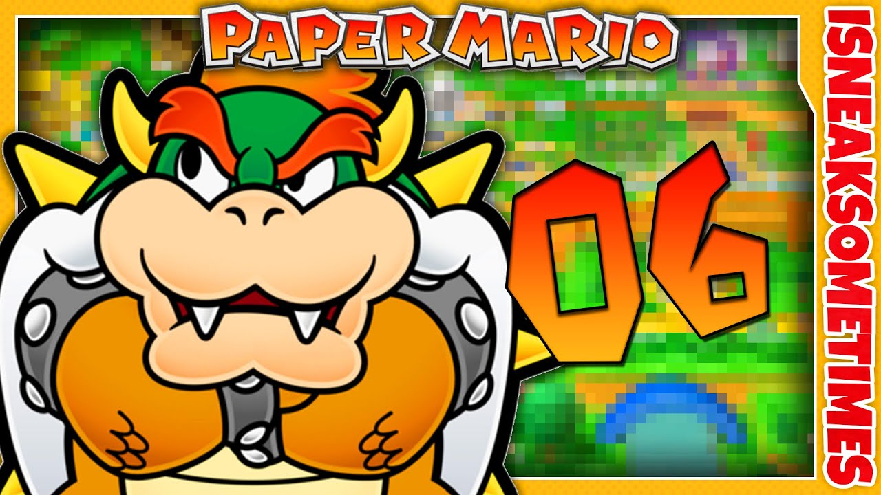 Paper Mario Wii U Vc Part 6 A Dry Dry Diary Road To Paper