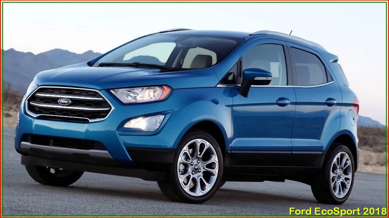 ford ecosport 2018 new 2018 ford ecosport review. Black Bedroom Furniture Sets. Home Design Ideas