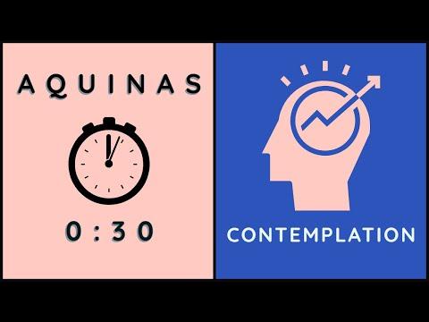 30 sec Aquinas: Happiness as Contemplation
