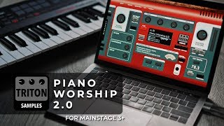 Worship Piano Patches in Sunday Keys Version 2 for MainStage