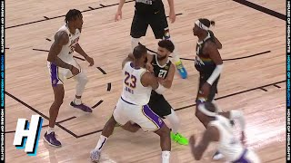 Jamal Murray ELBOWS LeBron James - Game 3 | Lakers vs Nuggets | September 22, 2020 NBA Playoffs