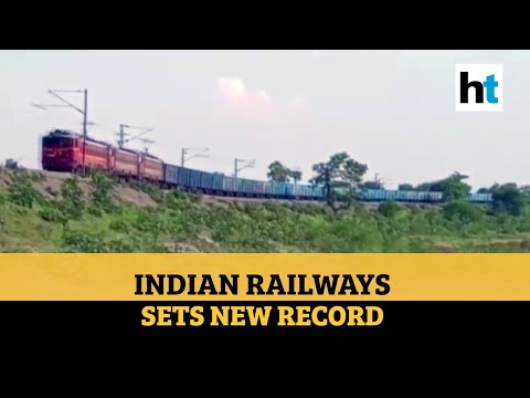 Watch: Indian Railways operates 'SheshNaag', the longest ever freight train