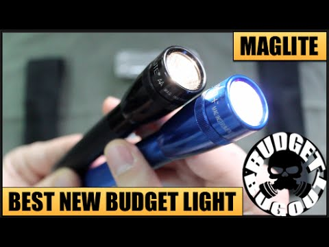 Best New Budget EDC Flashlight -- $20 MagLite Mini PRO+ LED AA   Maglite Comparison