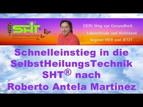 Info und Kurz-Votrag Selbstheilungstechnik SHT - Roberto Antela Martinez