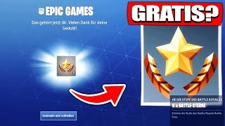 GET FREE BATTLE PASS STARS from EPIC GAMES? - Fortnite Battle Royale English