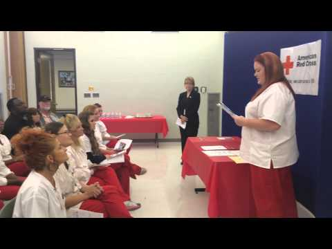 2014 Graduation Day!  Red Cross Nursing Assistant Training Program