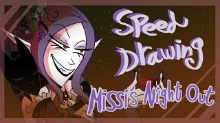 Speed Drawing: Missi's Night Out