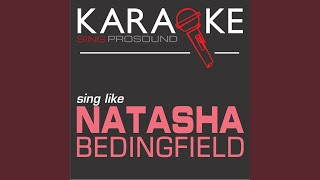Love Like This (In the Style of Natasha Bedingfield) (Karaoke with Background Vocal)