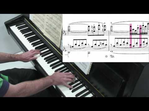 Liszt Consolation No.3 - Tutorial - Paul Barton, piano