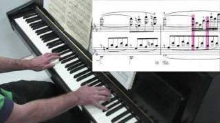 Liszt Consolation No.3 - Tutorial - Paul Barton, piano