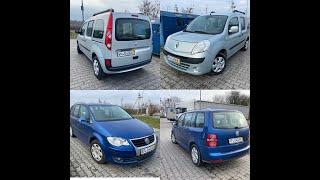 Купили два семейных авто Renault Kangoo 2009 & WV Touran 2007