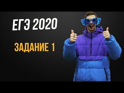 Задание 1 ЕГЭ 2020 математика профильный уровень подготовка