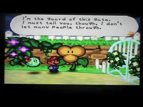 Paper Mario Walkthrough Ch6 Dark Days In Flower Fields Ptii