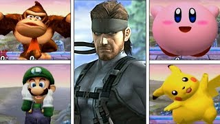 Super Smash Bros Brawl: Solid Snake