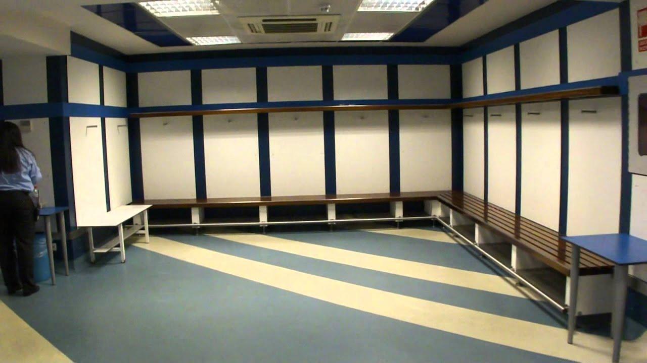 Santiago Bernabéu Real Madrid - Away changing room - YouTube