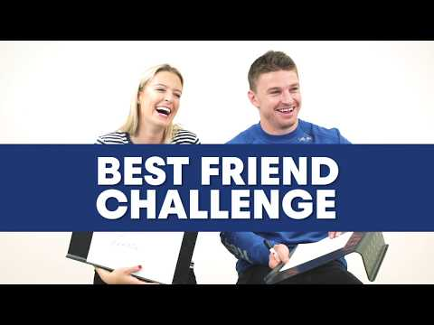 How Well Do You Know Your Partner? | Best Friend Challenge ft Beauden & Hannah Barrett