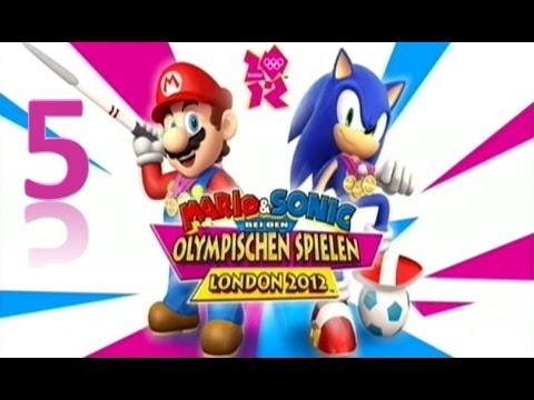Mario und Sonic bei den Olympischen Spielen London 2012 ...