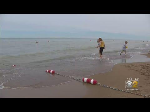 Lance Houston - Lake Michigan Levels Rising Quickly, Closing Beaches Around Chicagoland