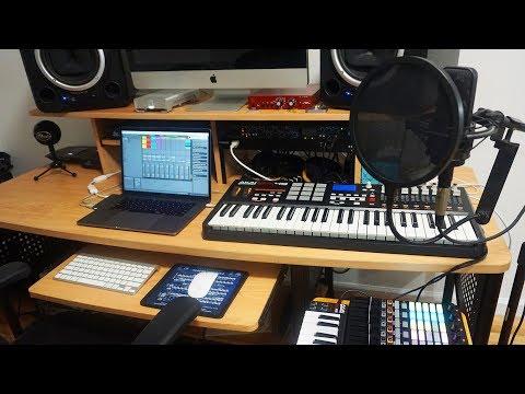Home Studio Tour 2018 - Recording & Music Production Setup