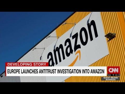 EU launches antitrust investigation into Amazon