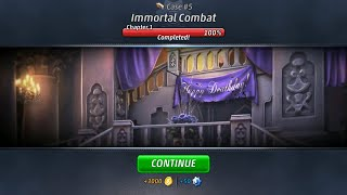 Criminal Case: Supernatural Investigations Case #5 - Immortal Combat | Chapter 1