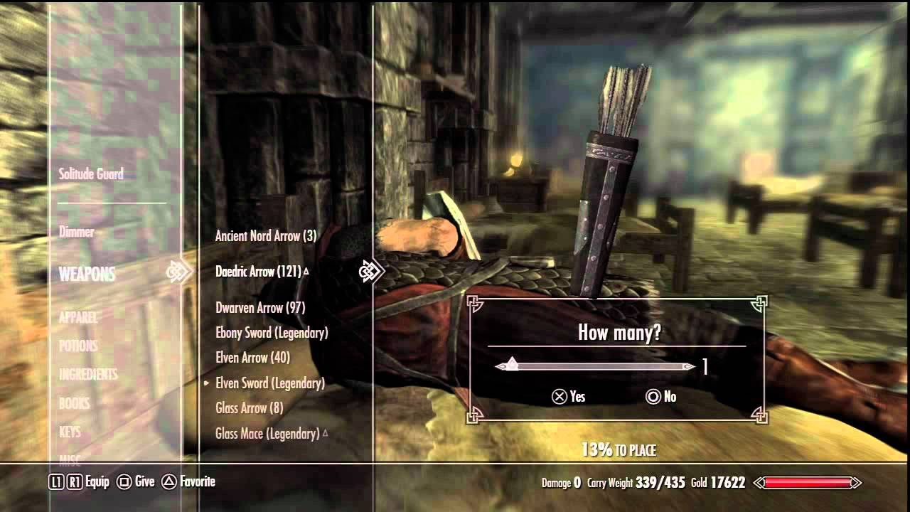 Skyrim: Free daedric arrows - YouTube |Daedric Arrows