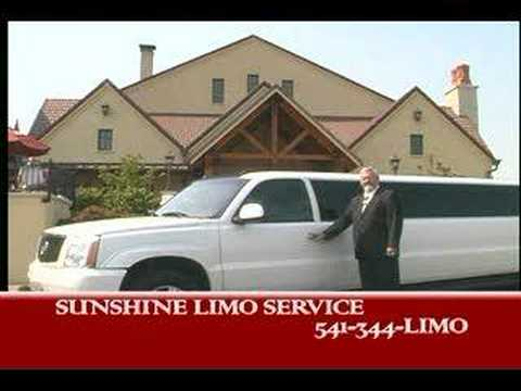 Sunshine Limo Service Oregon Wine Tour