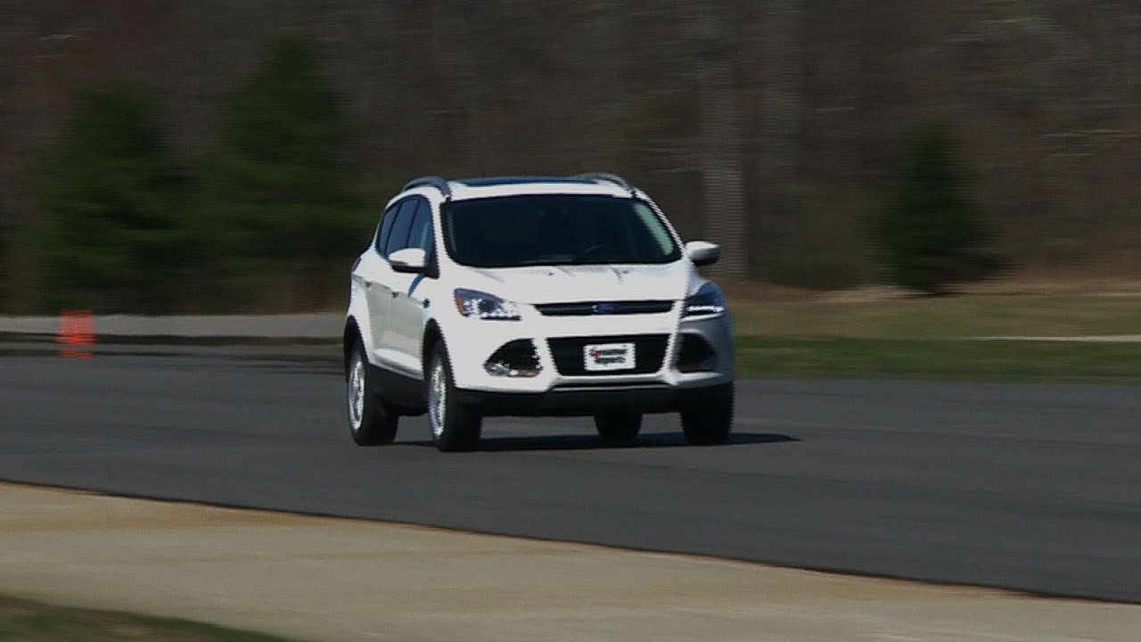 2013 ford escape first look consumer reports youtube. Black Bedroom Furniture Sets. Home Design Ideas