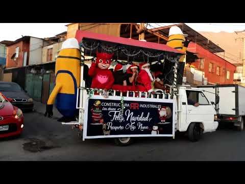 El mejor vídeo de la Navidad en Iquique Chile completo parte 2