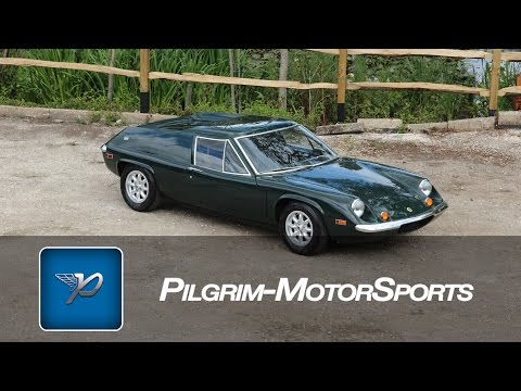 Lotus Europa S2 for sale at Pilgrim MotorSports | Sussex