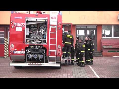 Nowe wozy strażackie tv Kanał S Lubartów 2013