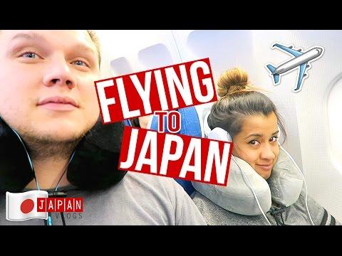 Flying to Japan + Yummy Ramen Dinner   Japan Vlog Day 1