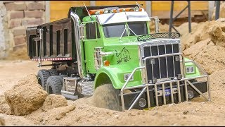 RC Trucks and heavy Machines in ACTION!