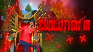 MY EVOLUTION !!! -FREE FIRE | REJECT FF