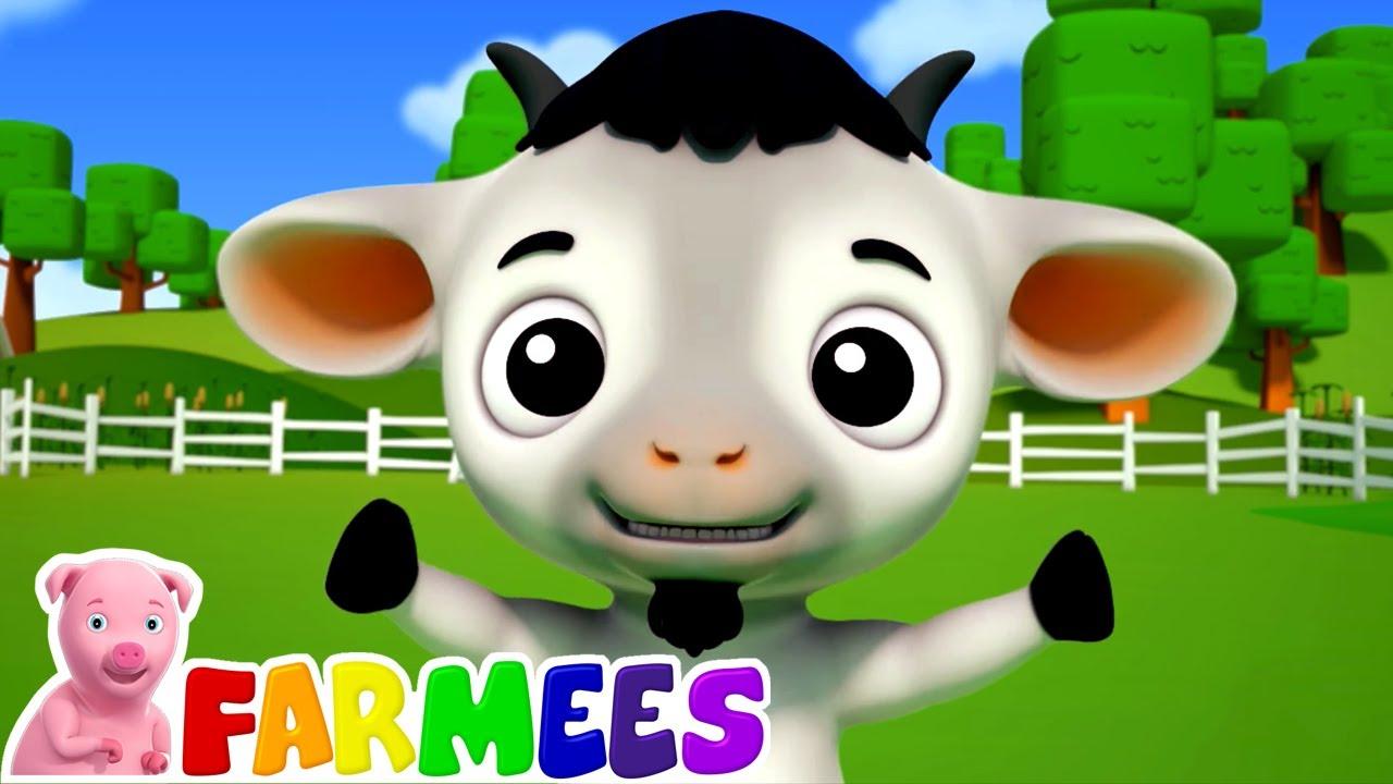 Bebe cabra | Musica para bebes | Video infantil | Farmees Português | Desenhos animado