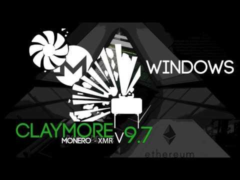 Claymores CryptoNight GPU Monero (XMR) Miner v9.7